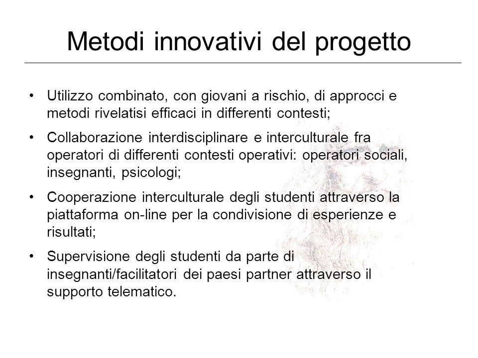 Metodi innovativi del progetto