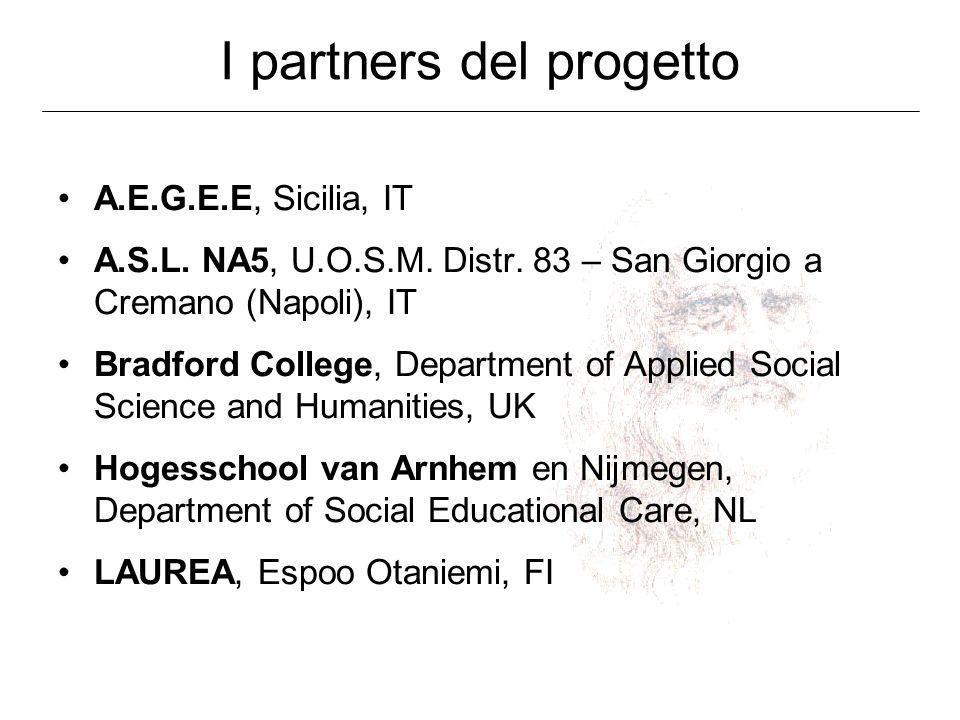 I partners del progetto