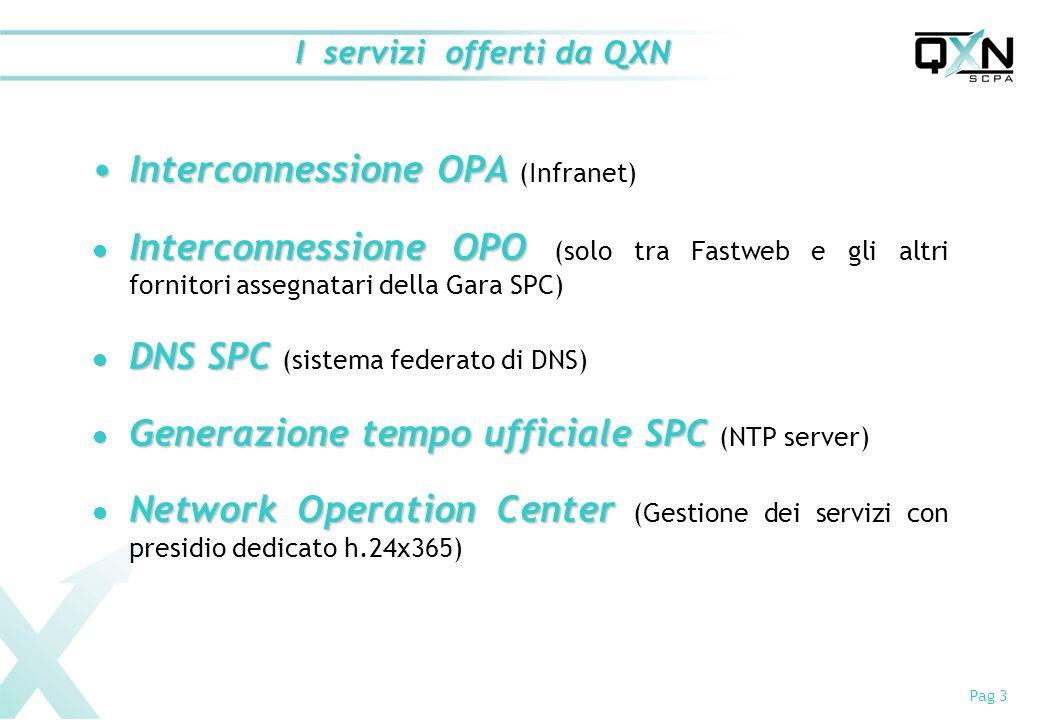 I servizi offerti da QXN