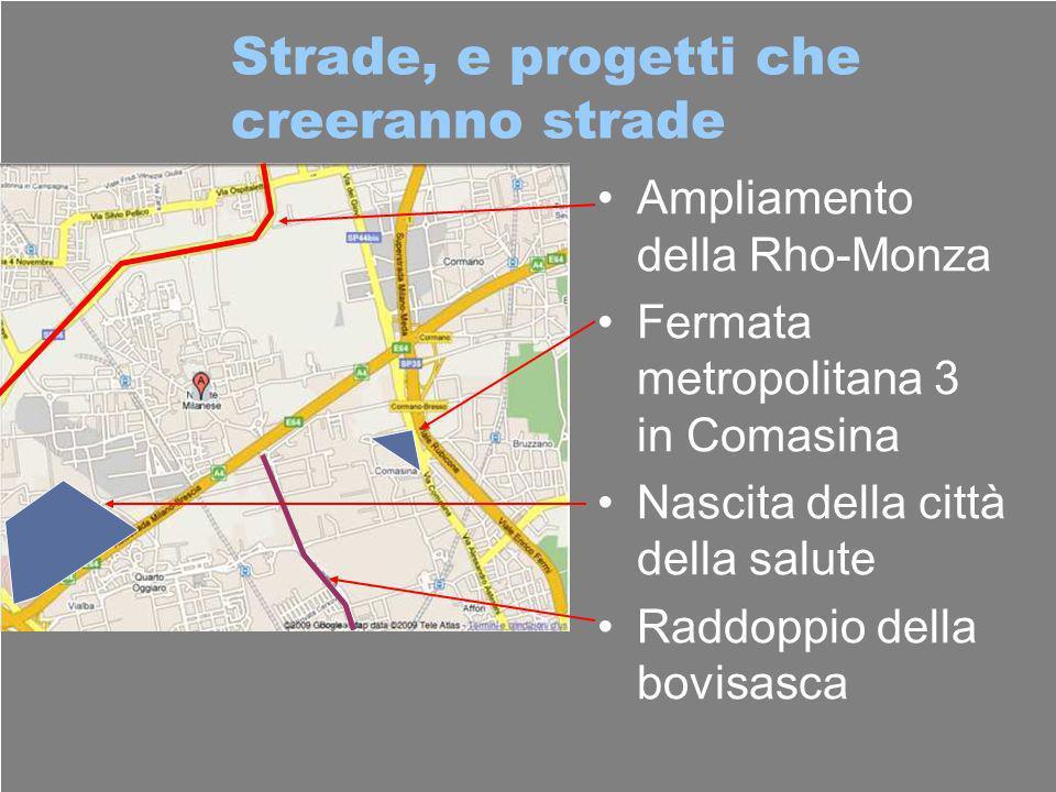 Strade, e progetti che creeranno strade