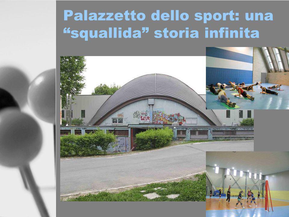 Palazzetto dello sport: una squallida storia infinita