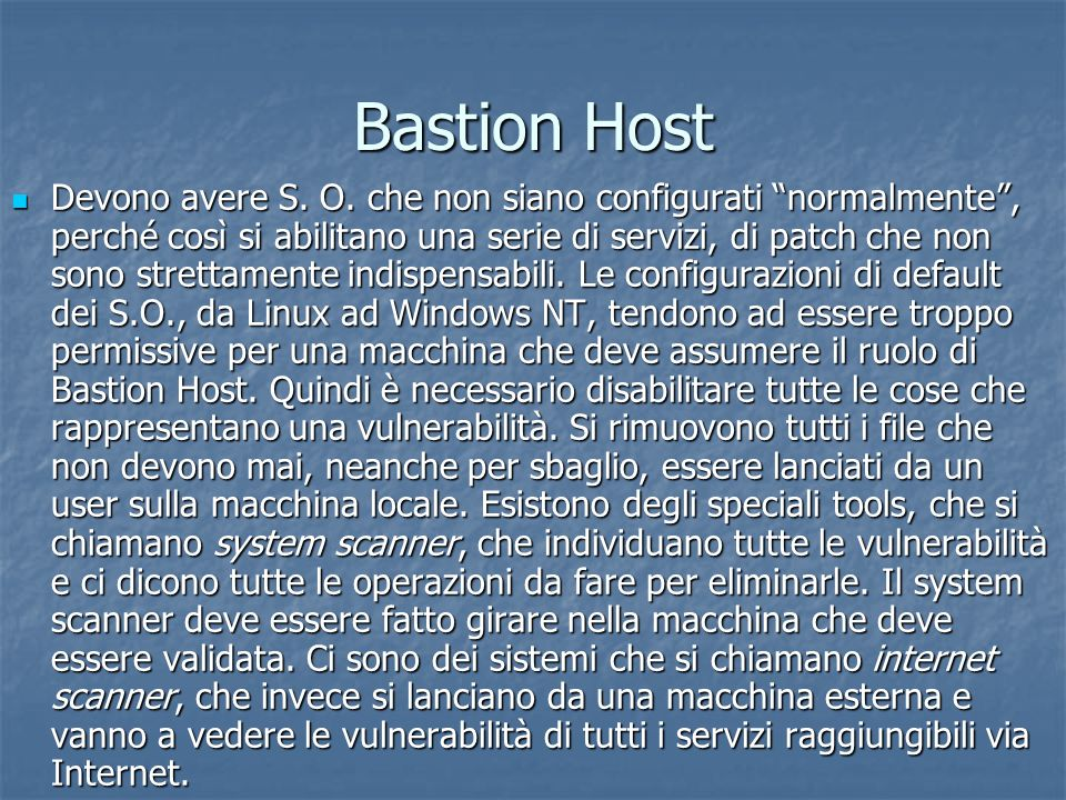 Bastion Host