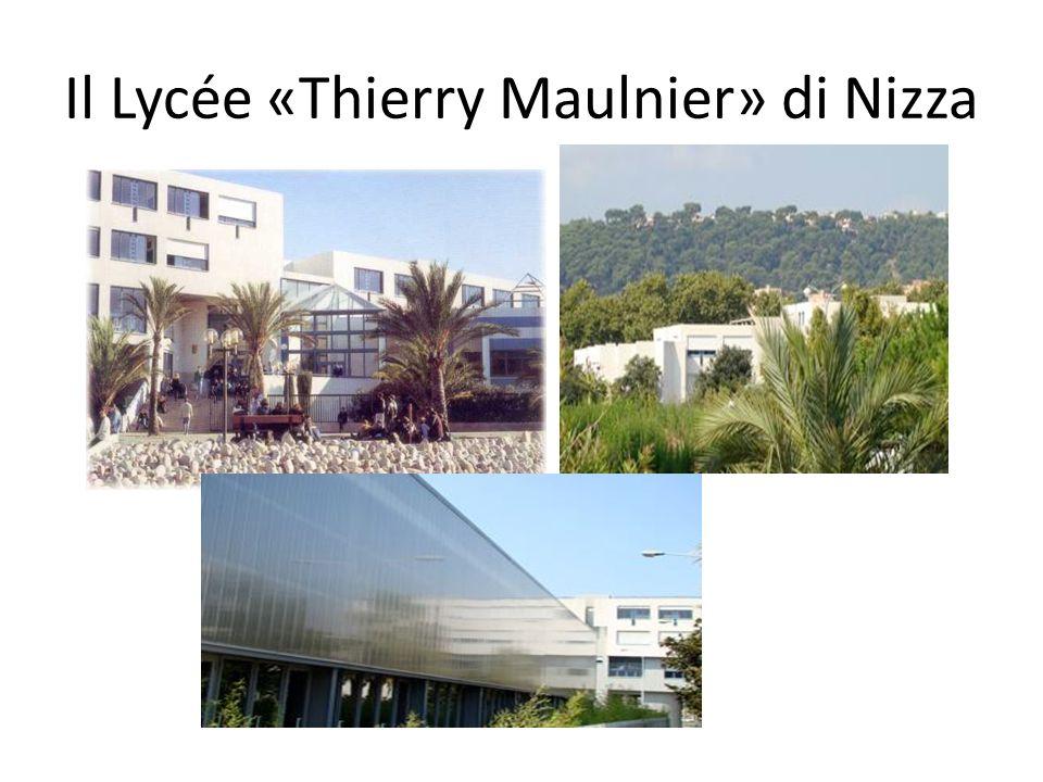 Il Lycée «Thierry Maulnier» di Nizza