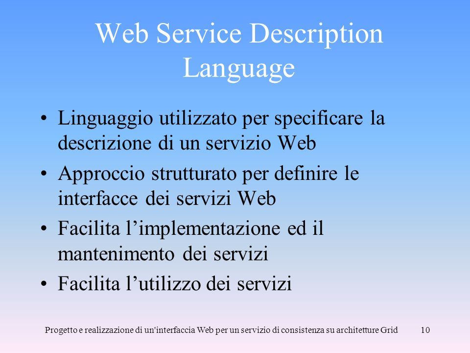 Web Service Description Language