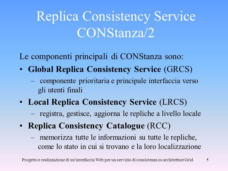 Replica Consistency Service CONStanza/2