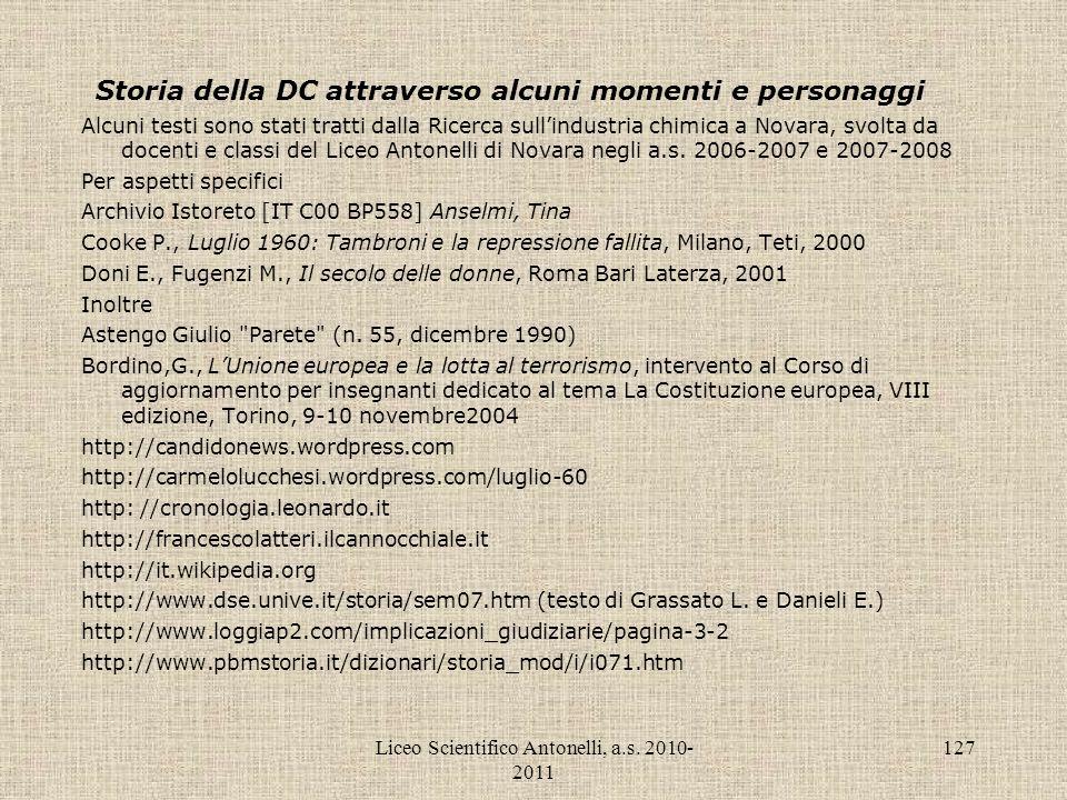 Storia della DC attraverso alcuni momenti e personaggi