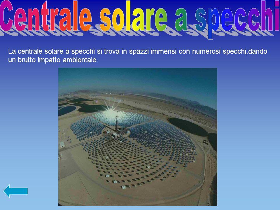 Centrale solare a specchi