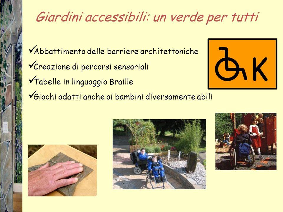 Giardini accessibili: un verde per tutti
