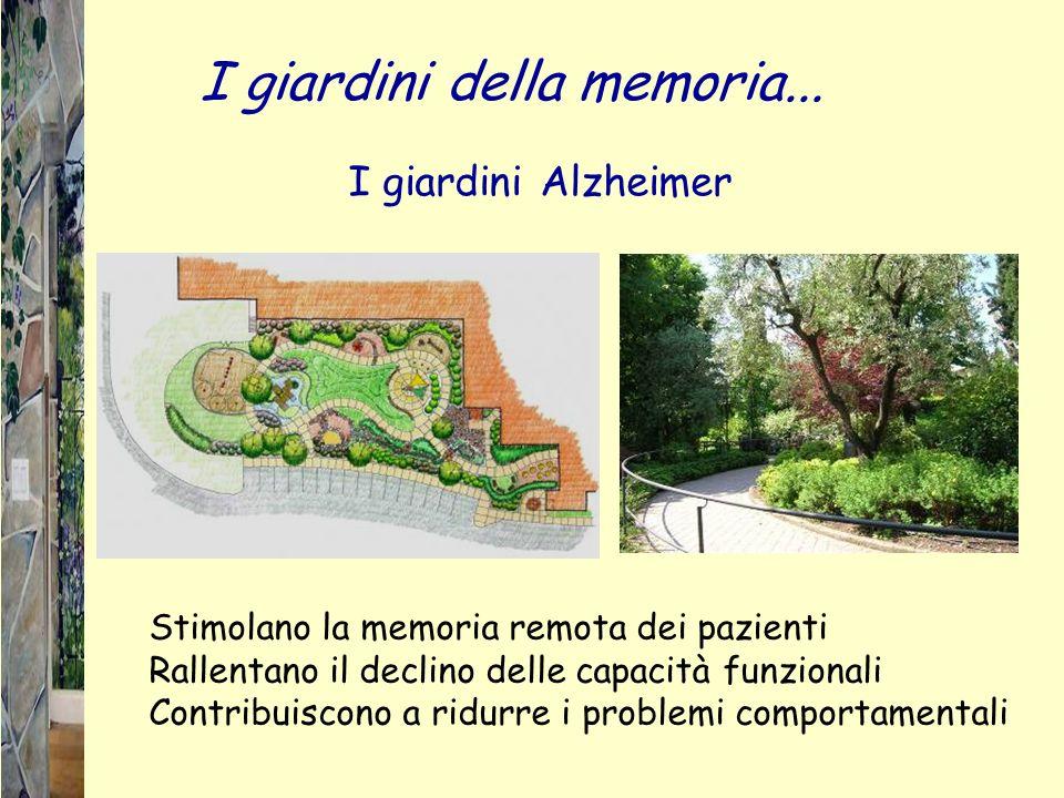 I giardini della memoria...