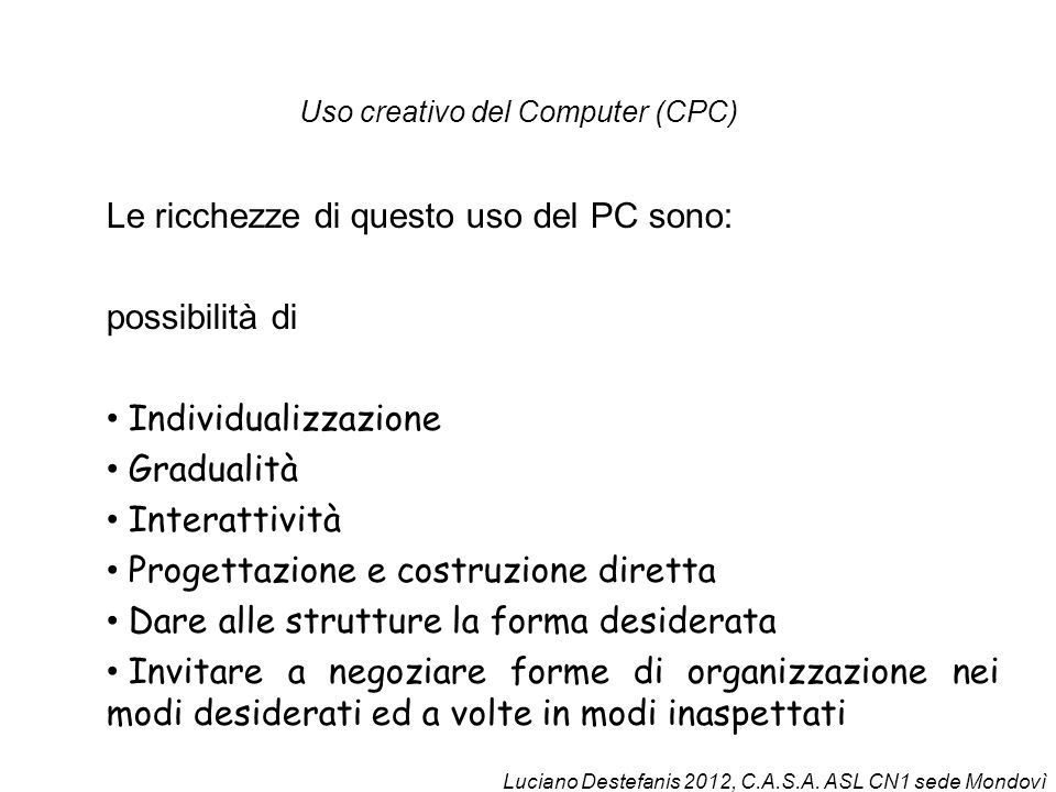 Uso creativo del Computer (CPC)