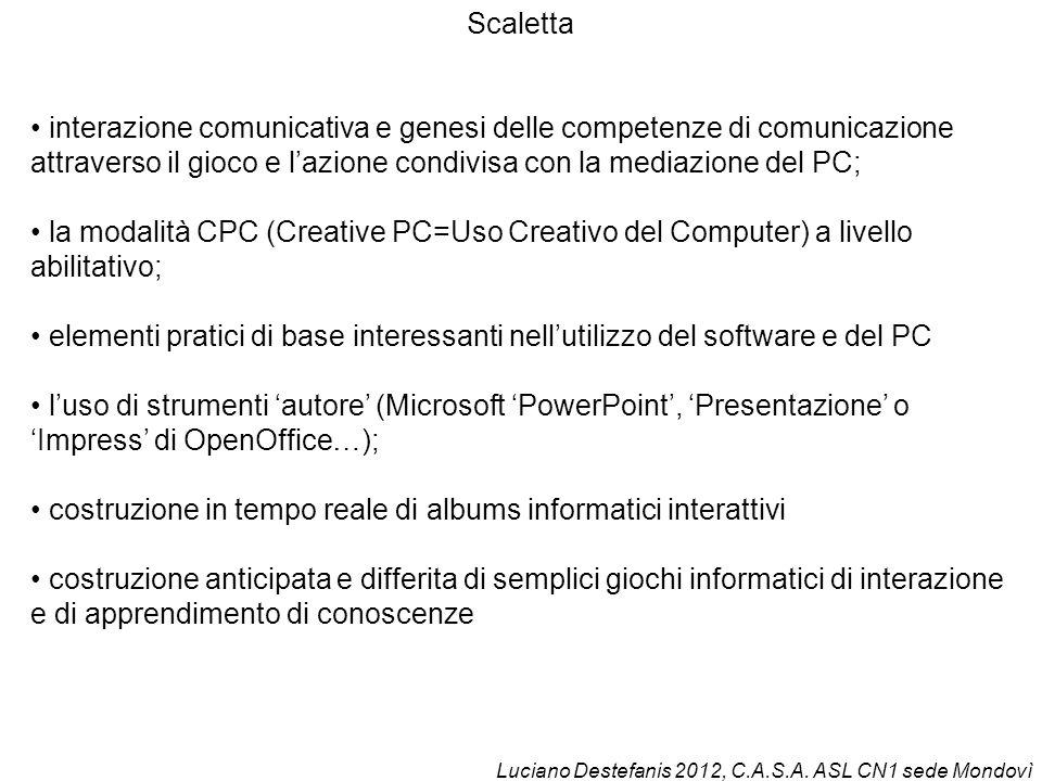• costruzione in tempo reale di albums informatici interattivi