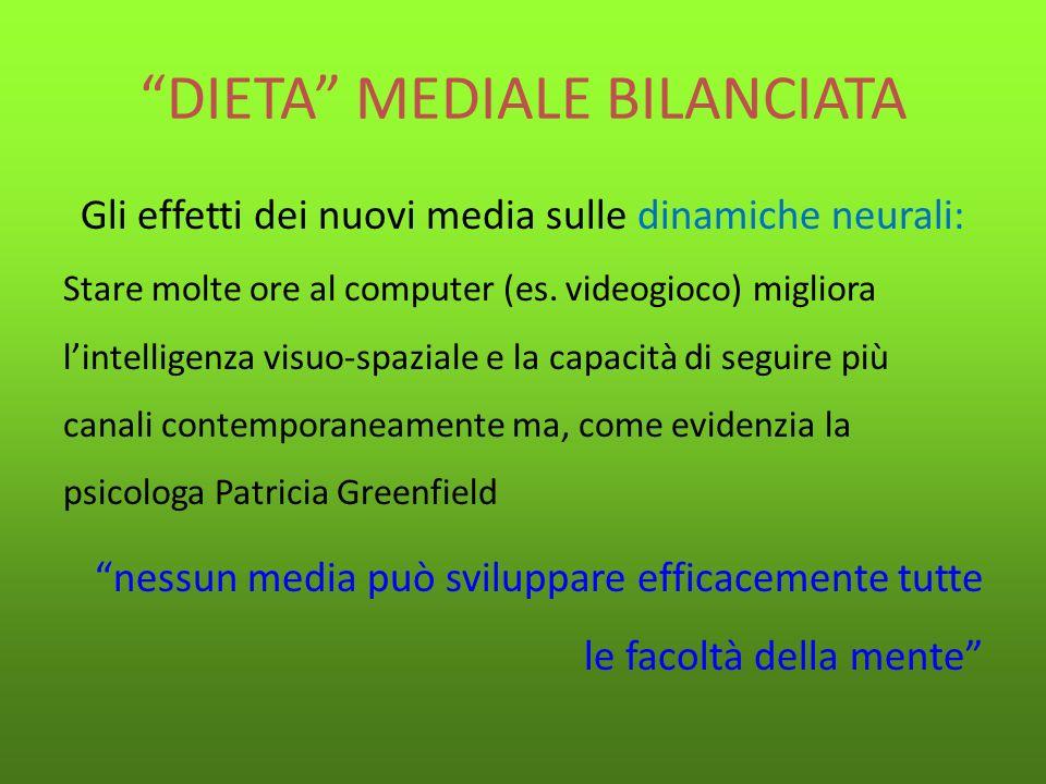DIETA MEDIALE BILANCIATA
