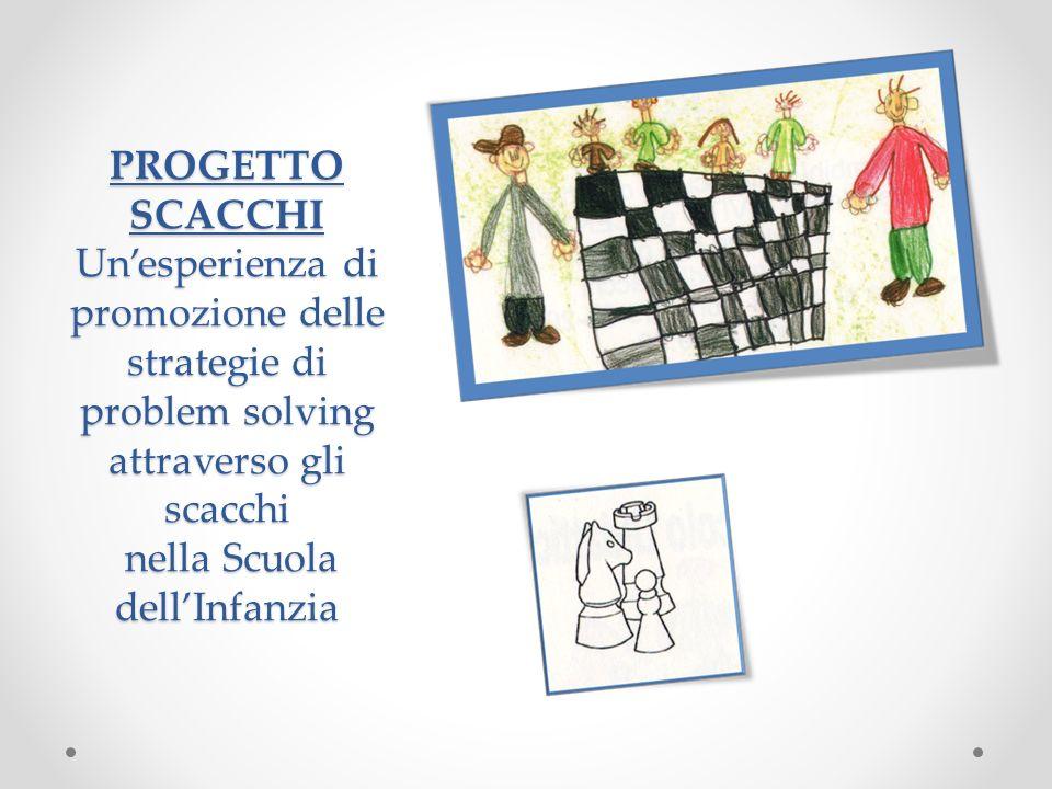 PROGETTO SCACCHI Un'esperienza di promozione delle strategie di problem solving attraverso gli scacchi nella Scuola dell'Infanzia