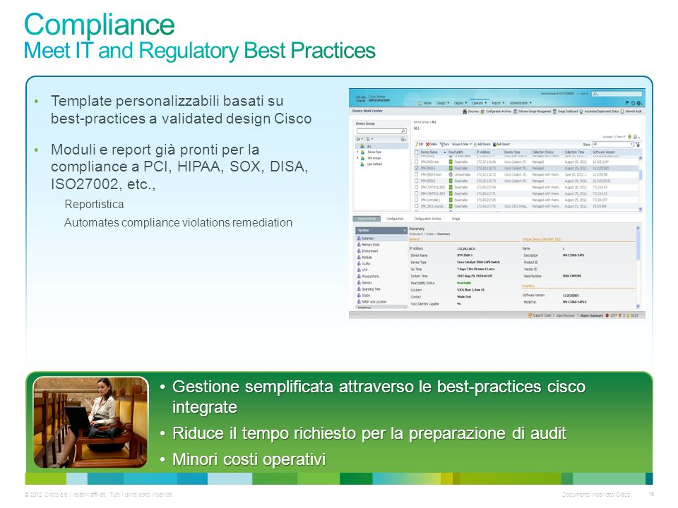 Compliance Meet IT and Regulatory Best Practices