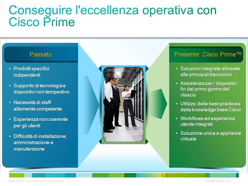 Conseguire l eccellenza operativa con Cisco Prime