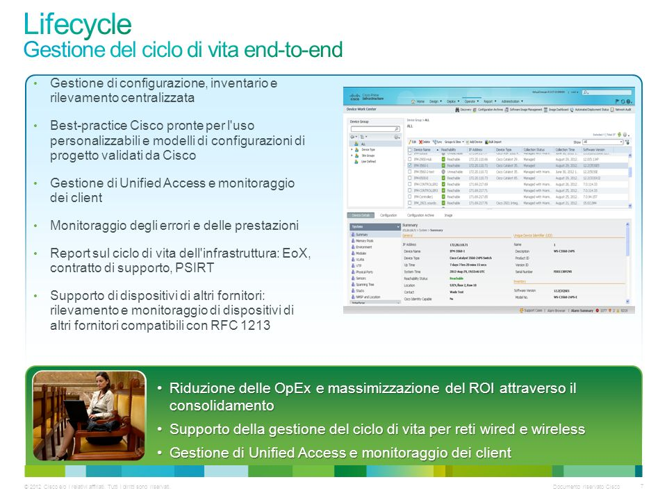 Lifecycle Gestione del ciclo di vita end-to-end