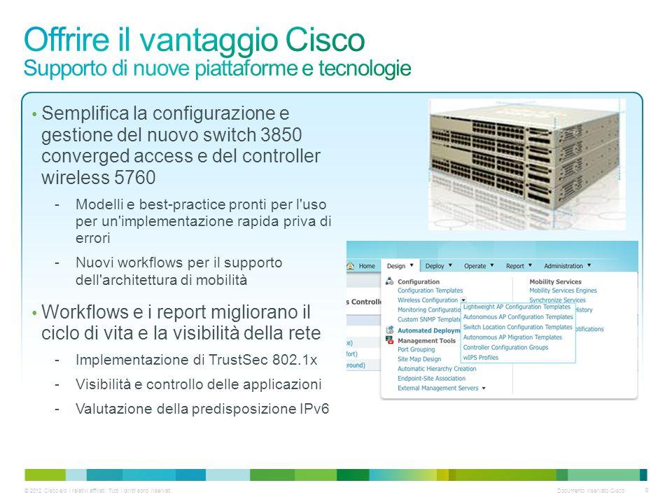 Offrire il vantaggio Cisco Supporto di nuove piattaforme e tecnologie