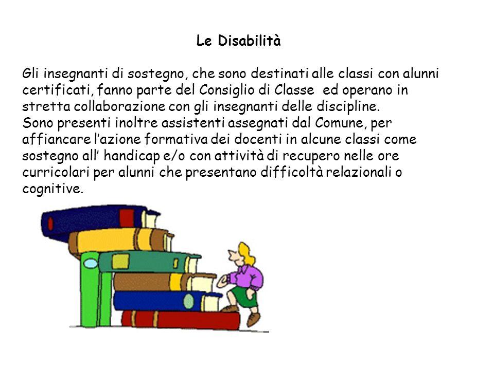 Le Disabilità