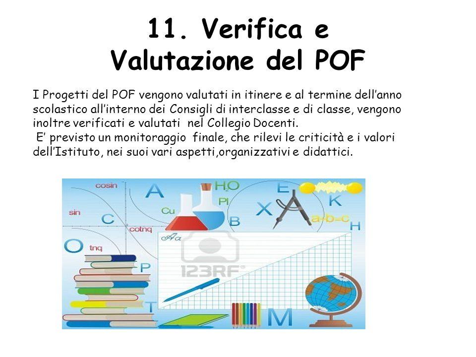11. Verifica e Valutazione del POF
