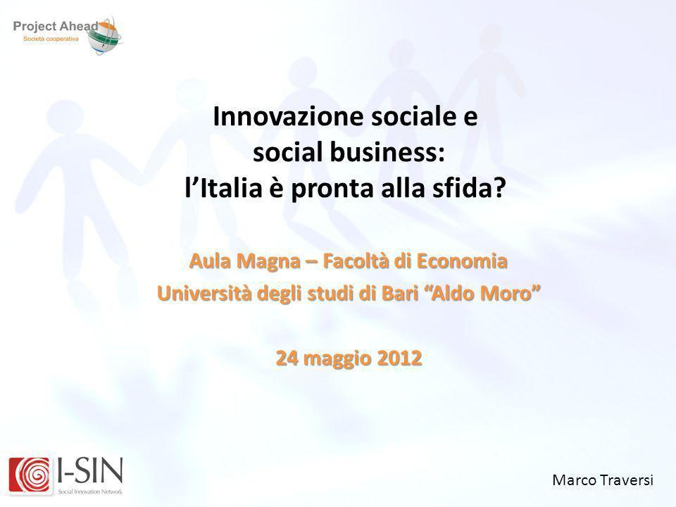 Innovazione sociale e social business: l'Italia è pronta alla sfida