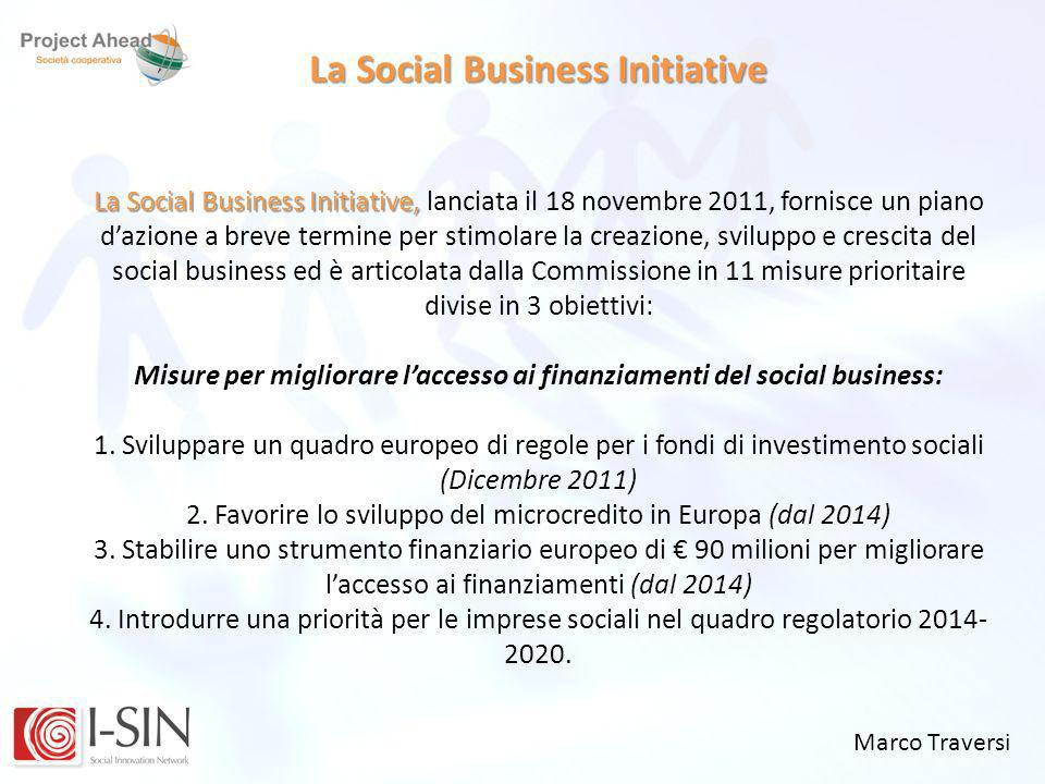 La Social Business Initiative