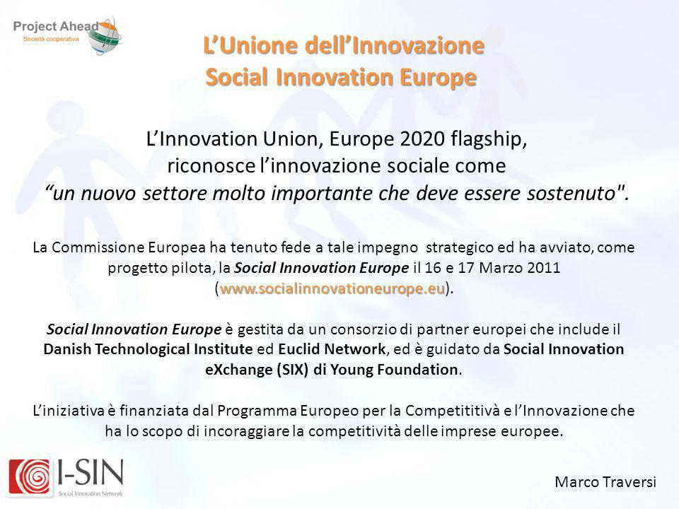 L'Unione dell'Innovazione Social Innovation Europe