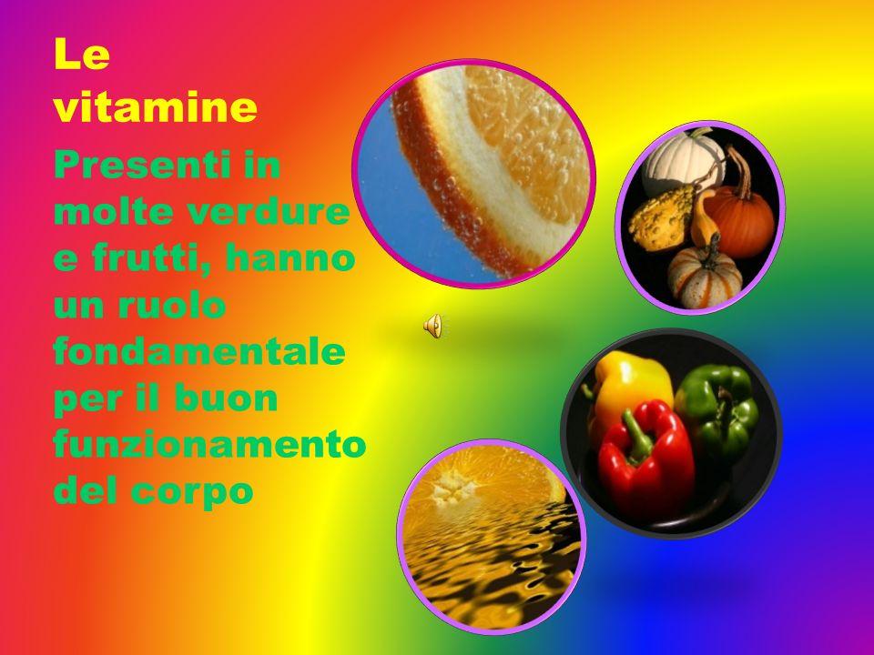 Le vitamine Presenti in molte verdure e frutti, hanno un ruolo fondamentale per il buon funzionamento del corpo.