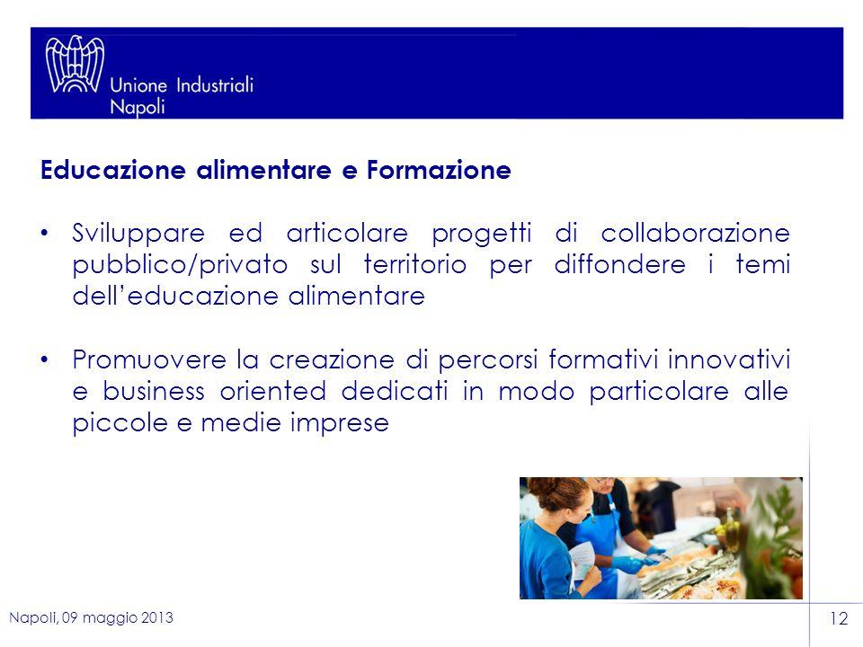Educazione alimentare e Formazione