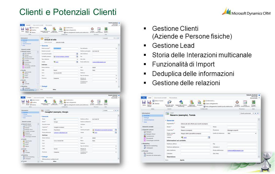 Clienti e Potenziali Clienti