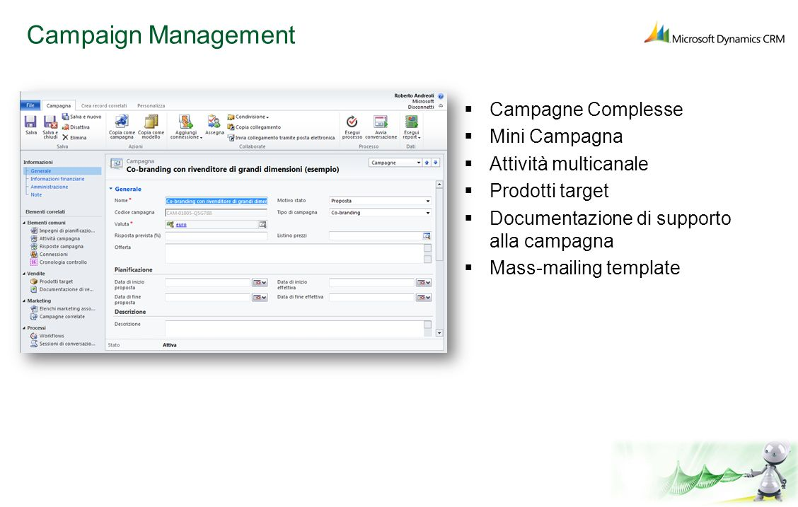 Campaign Management Campagne Complesse Mini Campagna