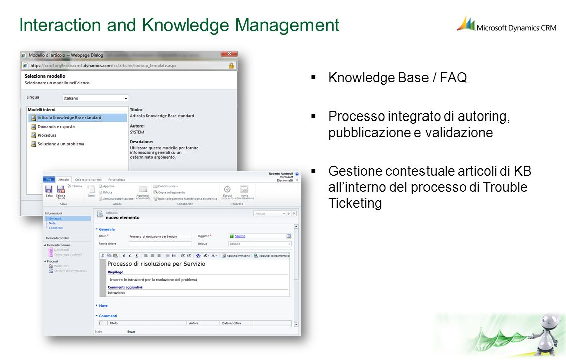 Interaction and Knowledge Management