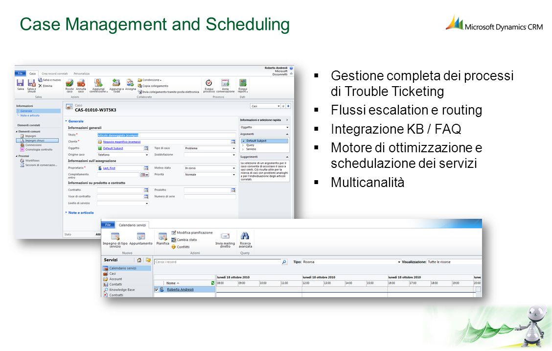 Case Management and Scheduling