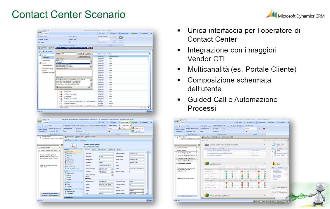 Contact Center Scenario