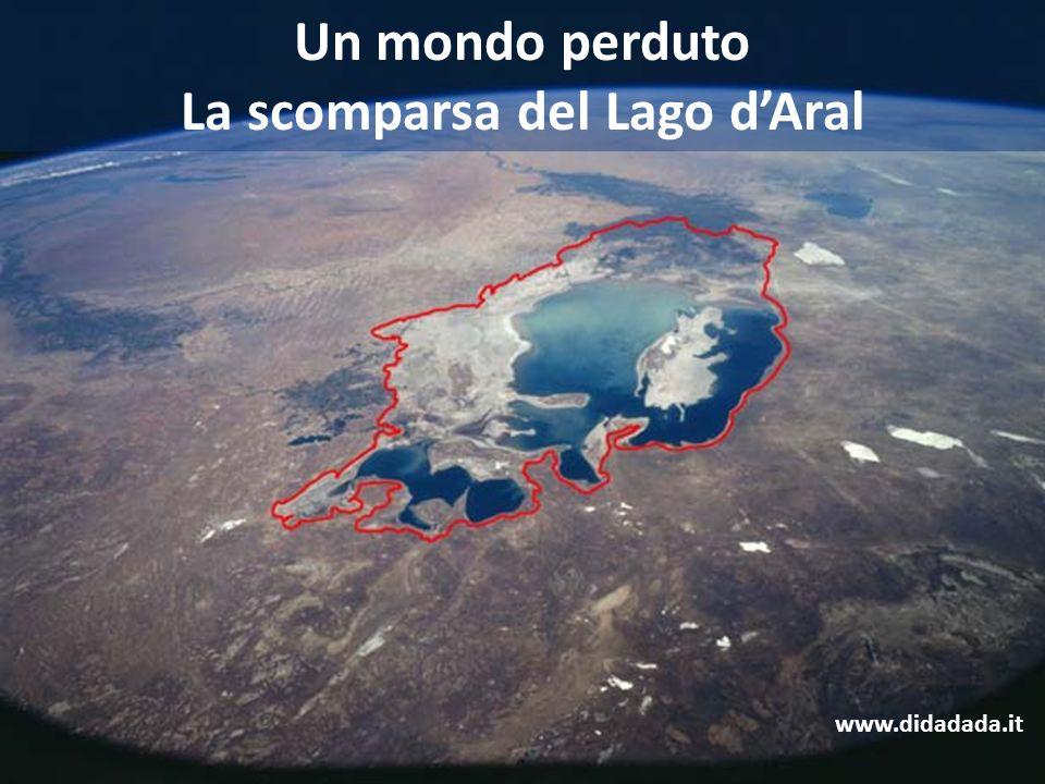 La scomparsa del Lago d'Aral