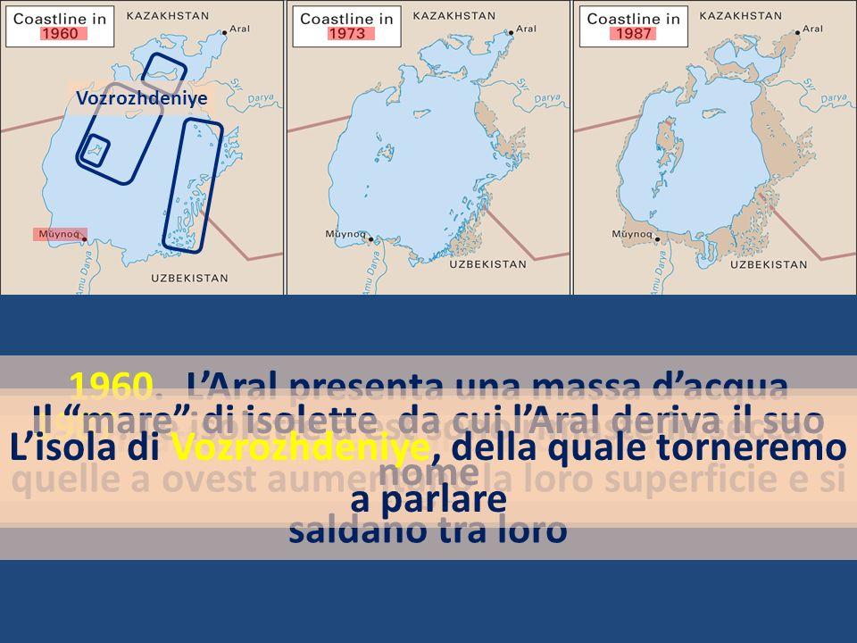 Il mare di isolette da cui l'Aral deriva il suo nome