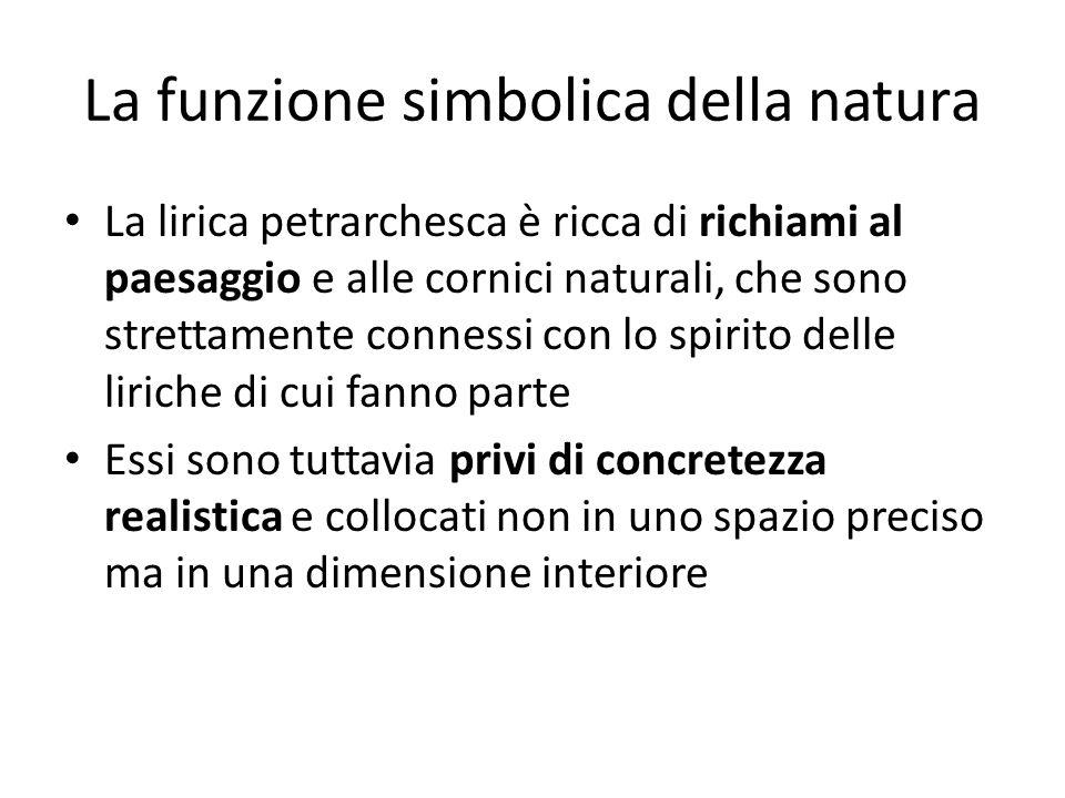 La funzione simbolica della natura