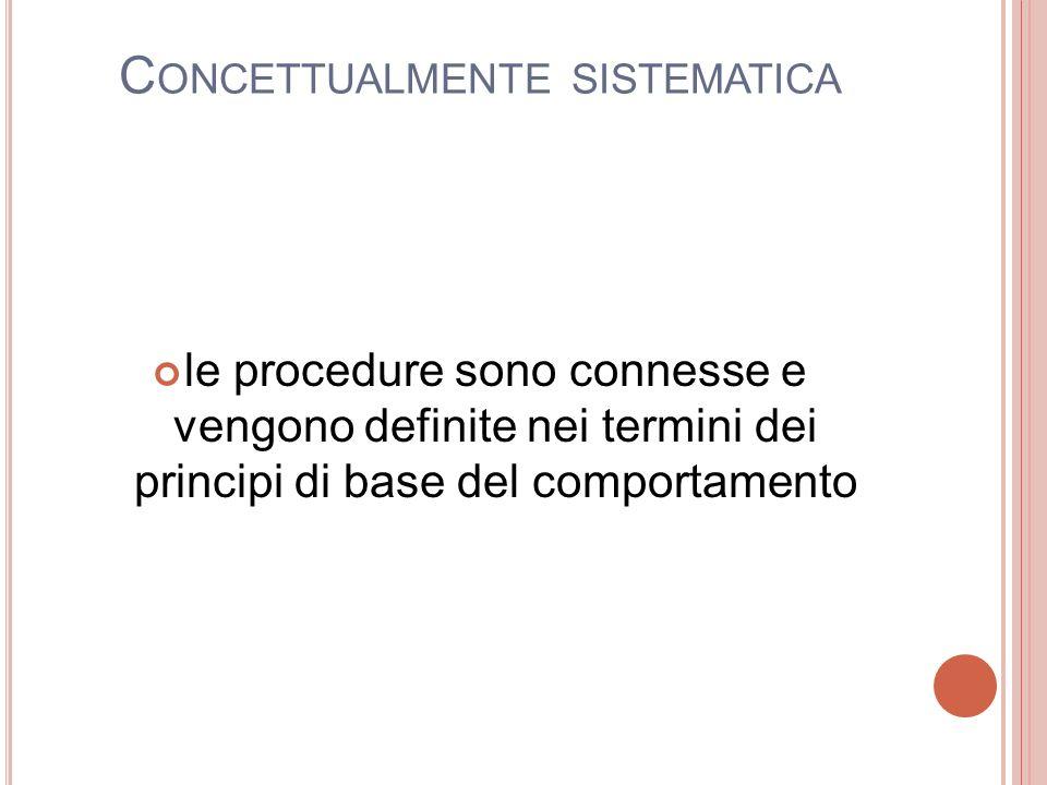 Concettualmente sistematica