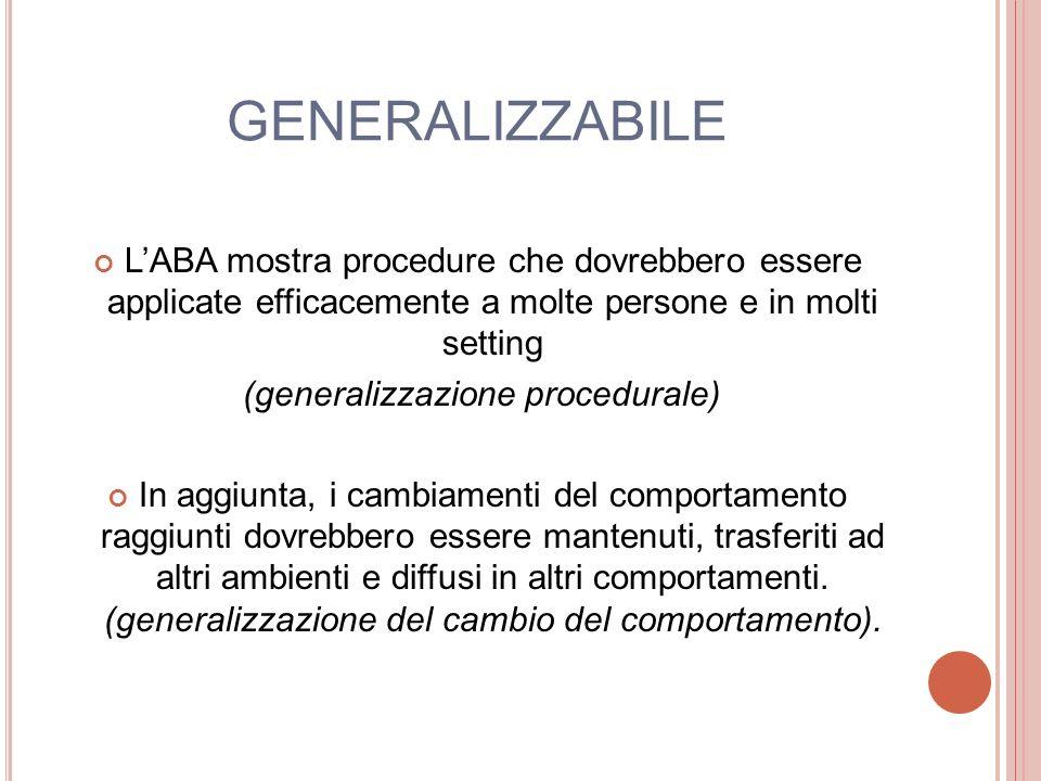 (generalizzazione procedurale)