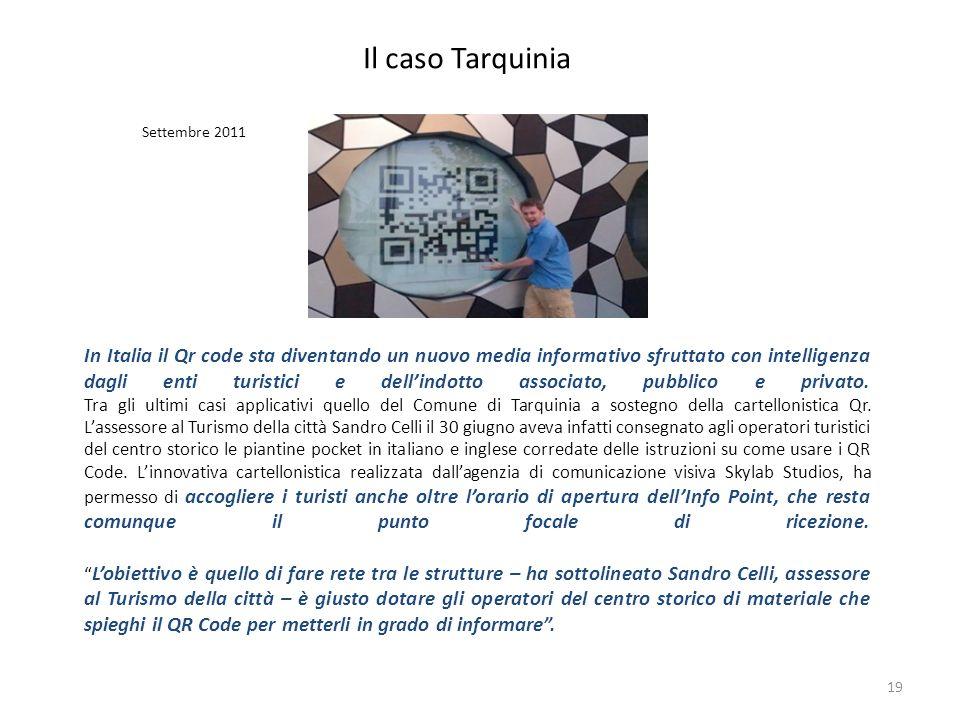 Il caso TarquiniaSettembre 2011.