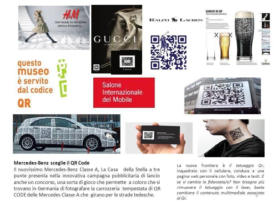 Mercedes-Benz sceglie il QR Code
