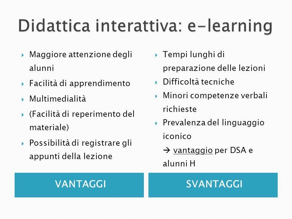 Didattica interattiva: e-learning