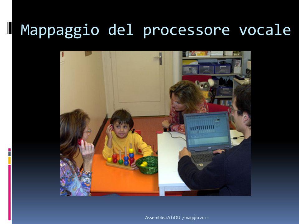 Mappaggio del processore vocale