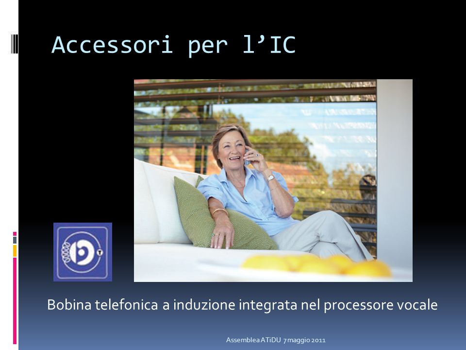Accessori per l'IC Bobina telefonica a induzione integrata nel processore vocale.