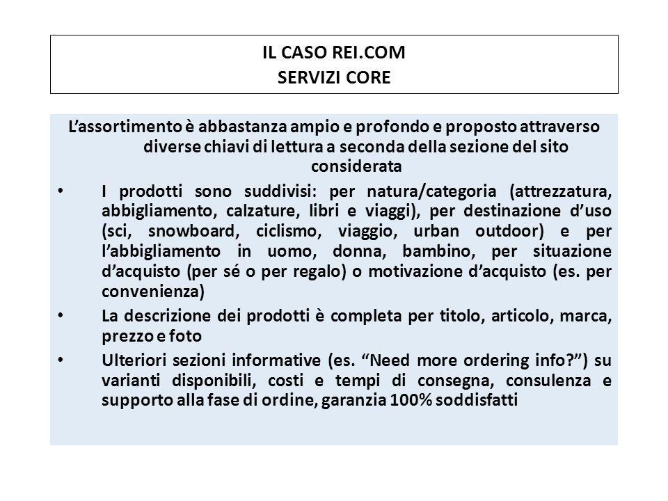 IL CASO REI.COM SERVIZI CORE
