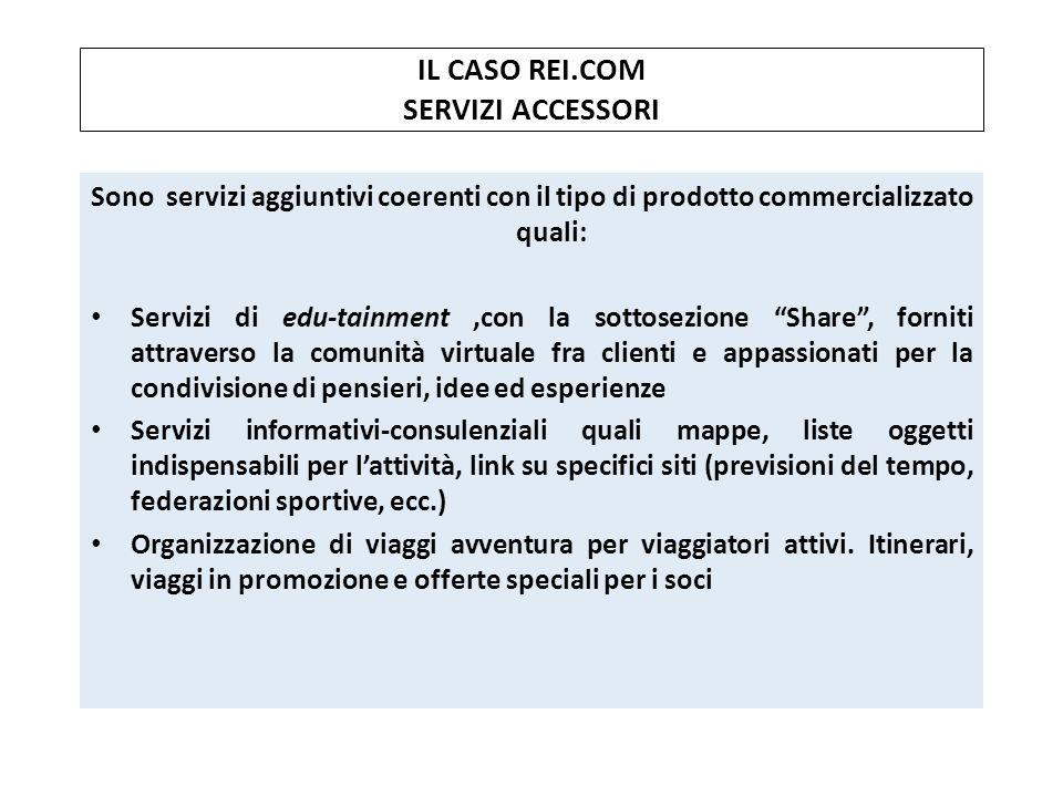 IL CASO REI.COM SERVIZI ACCESSORI
