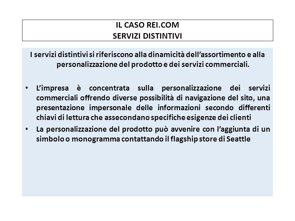 IL CASO REI.COM SERVIZI DISTINTIVI