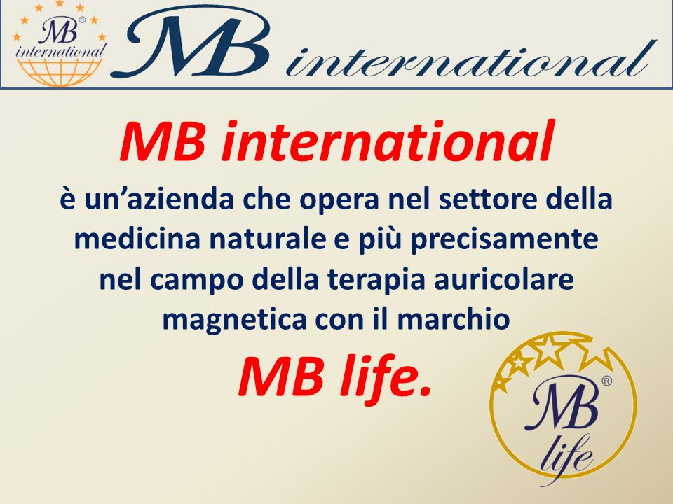 MB international MB life.