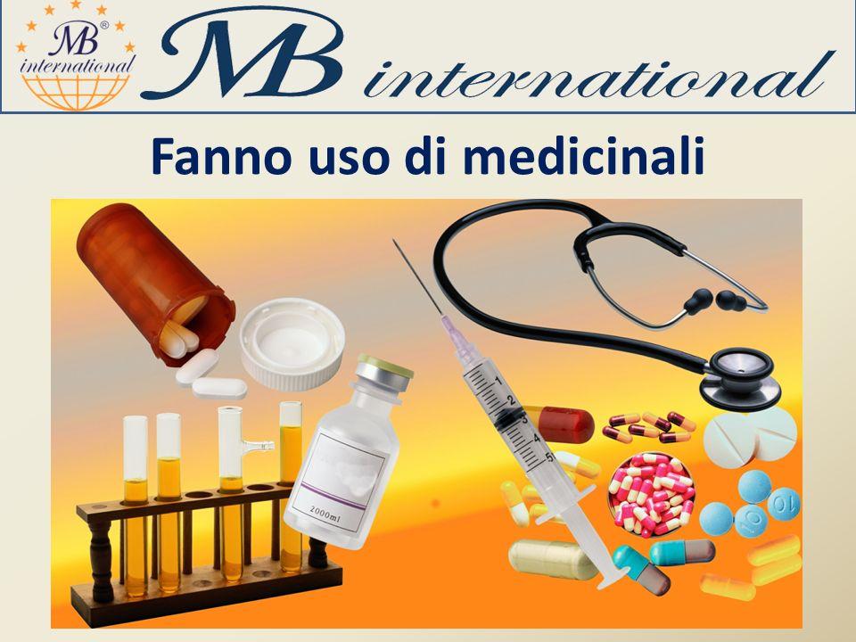 Fanno uso di medicinali