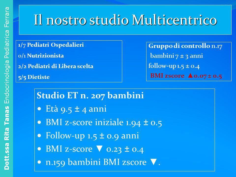 Il nostro studio Multicentrico
