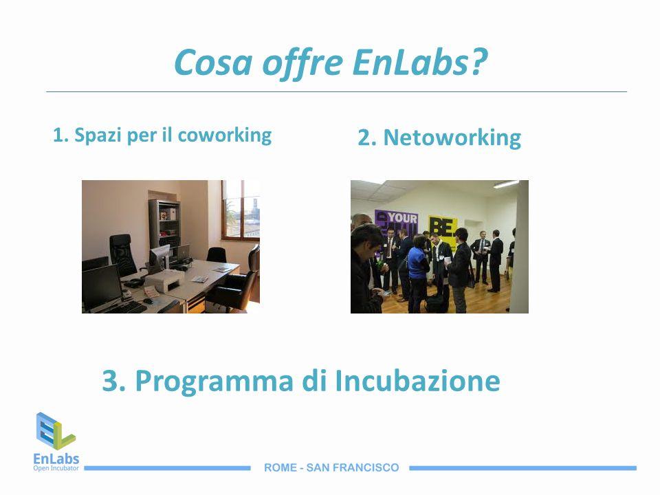 3. Programma di Incubazione